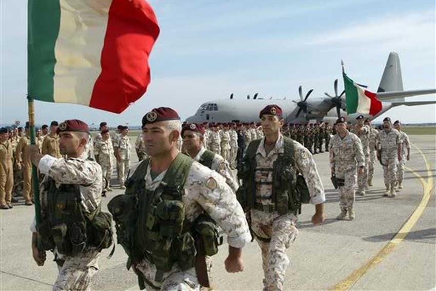 Missione militare italiana in Niger - Lotta Continua