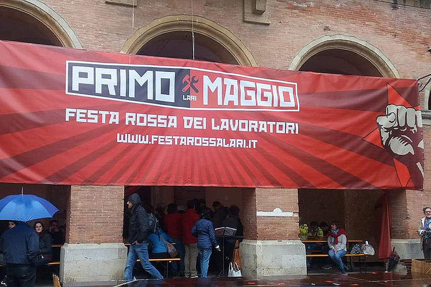 Festa del primo maggio a Lari: grande partecipazione nonostante il maltempo