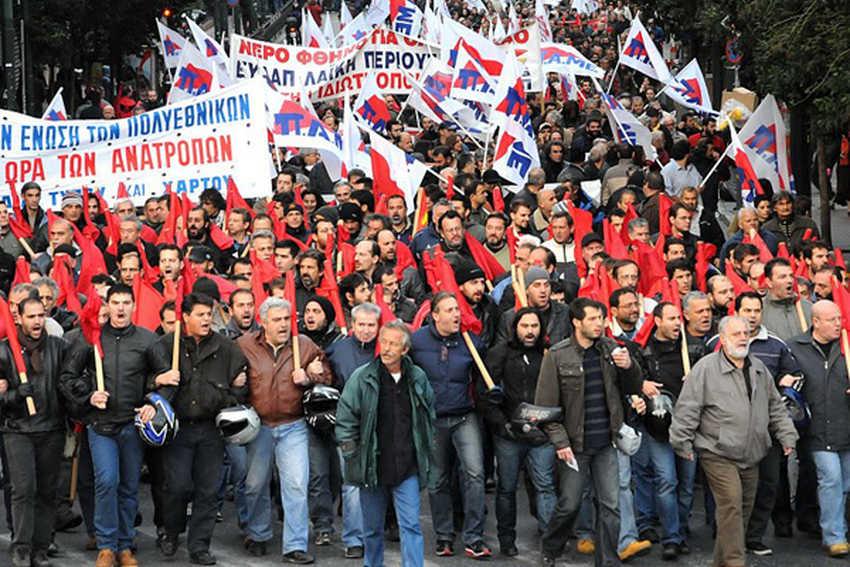 Grecia: continua la devastazione sociale della troika!