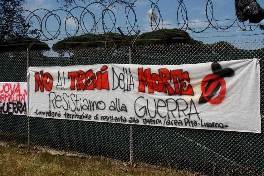 Perché partecipare alla manifestazione del 2 giugno a Camp Darby
