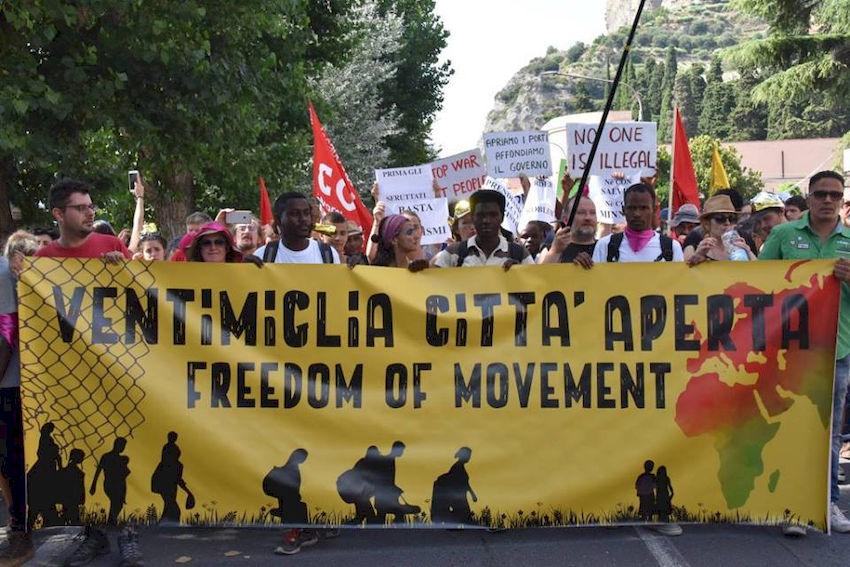 Da Ventimiglia esce un grido che può riecheggiare in tutta Italia ed Europa